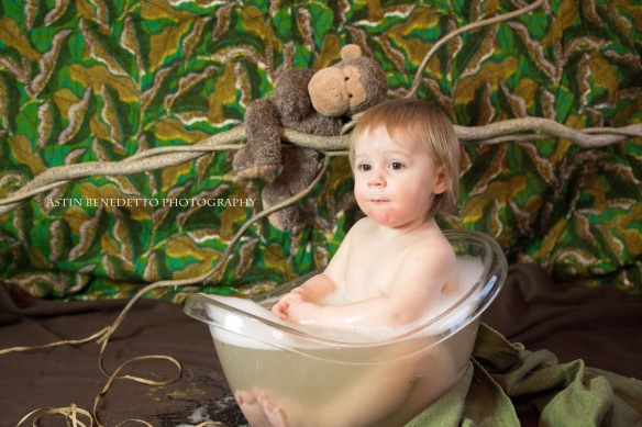 In the Jungle- Phillipsburg, NJ Baby Photographer