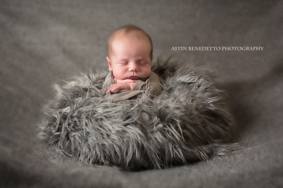 Complete~ NJ Newborn Photographer  baby in potato sack pose