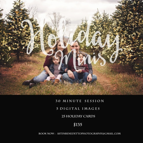 Holiday  Mini Sessions NJ Photographer Family sitting in tree farm